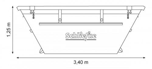 Absetzcontainer 5,5 m3 kranbar (nach DIN 30720)