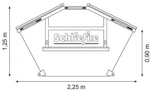 Multicarcontainer 2,5 m3 mit Deckel