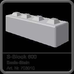 S-Block 600 Basis-Stein